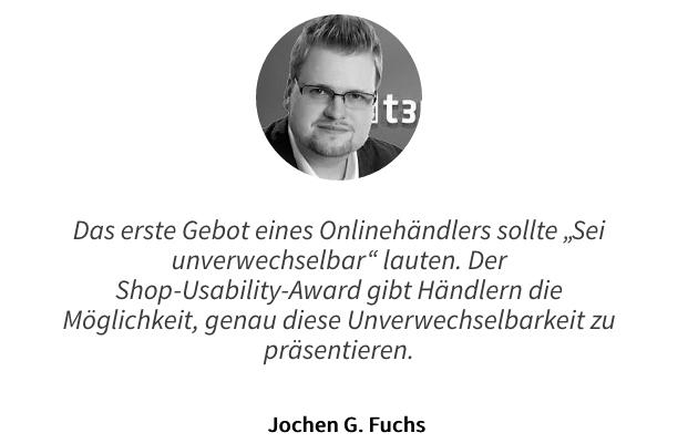 Zitat zum Online Shop Award