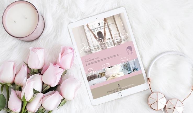 Das wunderschöne ästhetische Erscheinungsbild eines ganz besonderen Online Shop
