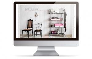 WebPage des online Shops im Internet